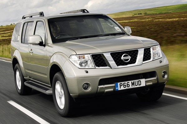 Nissan Pathfinder (05 14)   Rated 3 Out Of 5