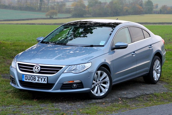 volkswagen passat cc from 2008 used prices parkers. Black Bedroom Furniture Sets. Home Design Ideas