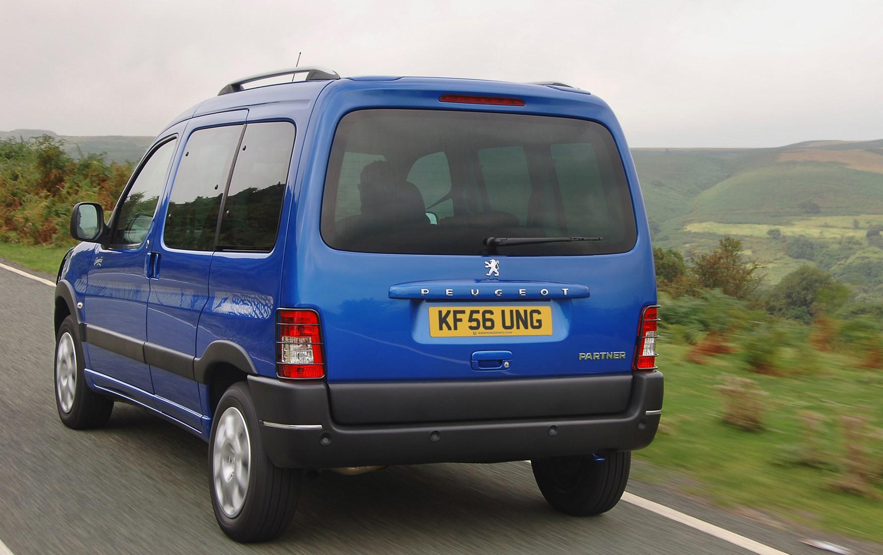 peugeot partner combi estate (2001 - 2010) driving & performance