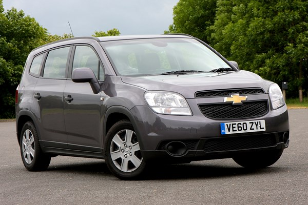 Chevrolet Orlando (11-15) - rated 3.5 out of 5