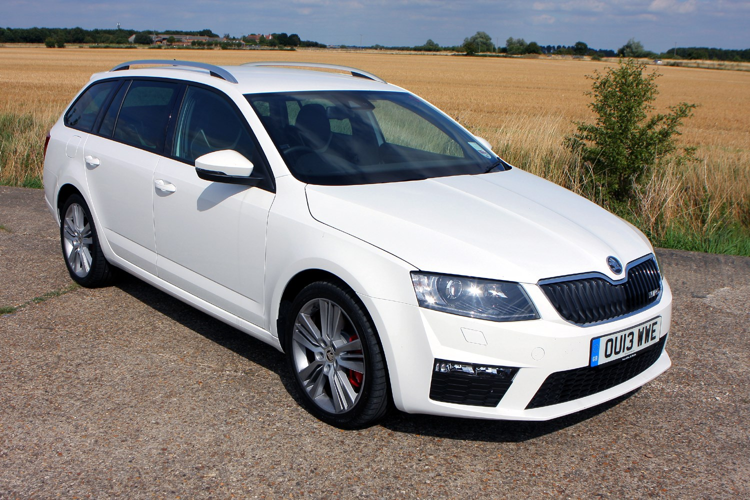 skoda octavia vrs 2013 photos parkers. Black Bedroom Furniture Sets. Home Design Ideas