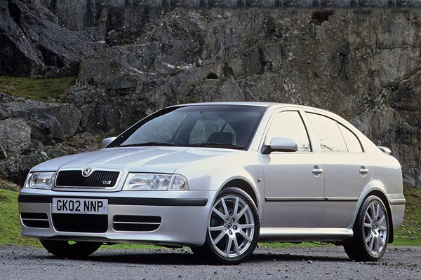 Skoda Octavia vRS (01-05) - rated 4 out of 5