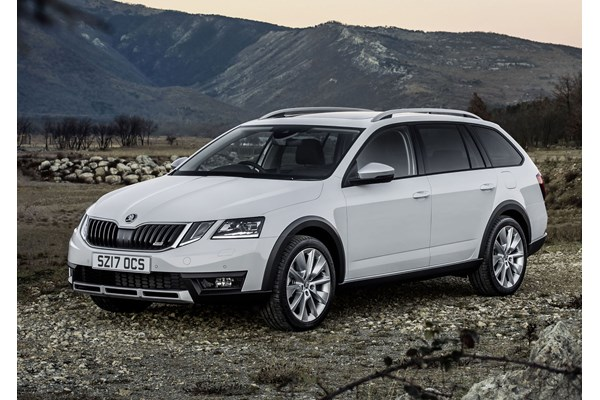 skoda octavia scout review summary parkers. Black Bedroom Furniture Sets. Home Design Ideas