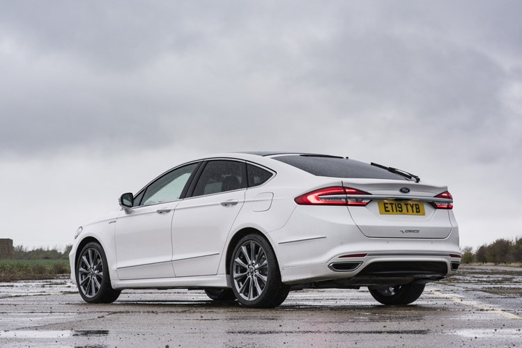 2019 Ford Modeo white rear