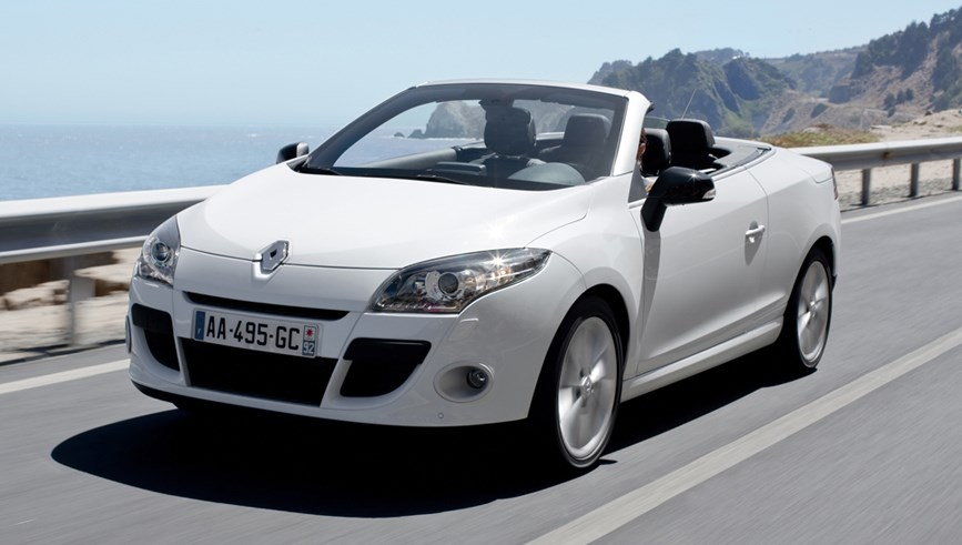 renault megane coupe cabriolet 2010 2016 driving performance parkers. Black Bedroom Furniture Sets. Home Design Ideas