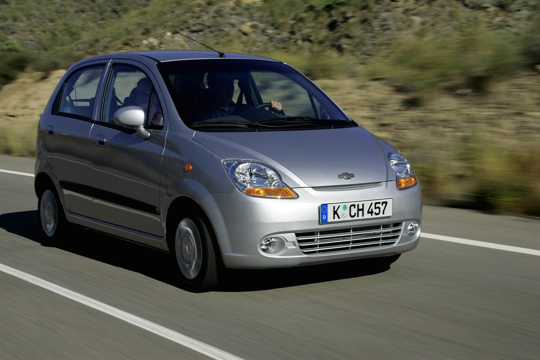 chevrolet matiz hatchback 2005 2009 driving performance parkers. Black Bedroom Furniture Sets. Home Design Ideas