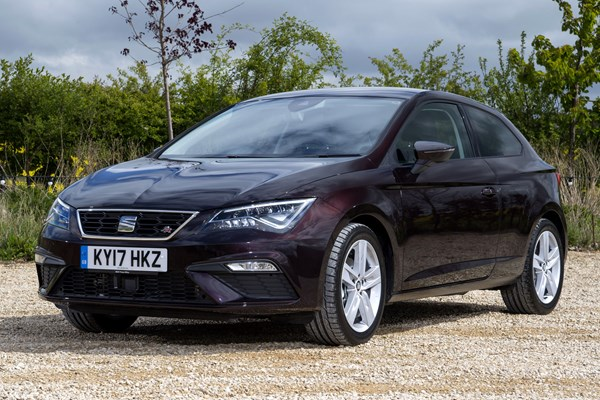 seat leon sc from 2013 used prices parkers. Black Bedroom Furniture Sets. Home Design Ideas