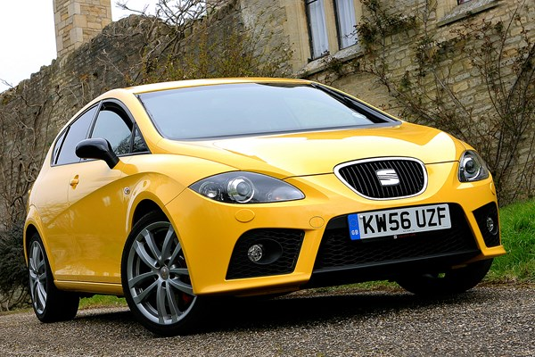 seat leon cupra from 2007 used prices parkers. Black Bedroom Furniture Sets. Home Design Ideas