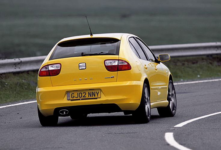 seat leon cupra r 2002 2005 photos parkers. Black Bedroom Furniture Sets. Home Design Ideas