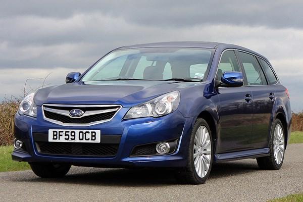 Subaru Legacy Tourer Review 2009 2013 Parkers