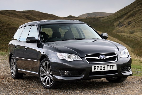 subaru legacy sports tourer from 2003 used prices parkers. Black Bedroom Furniture Sets. Home Design Ideas