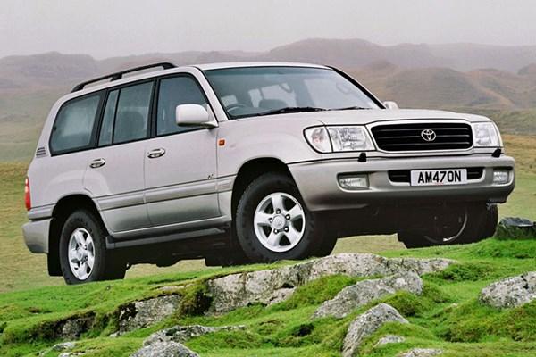 Toyota Land Cruiser Amazon (1998 - 2002) Used Prices