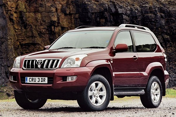 Toyota Land Cruiser (03 09)   Rated 3.5 Out Of 5