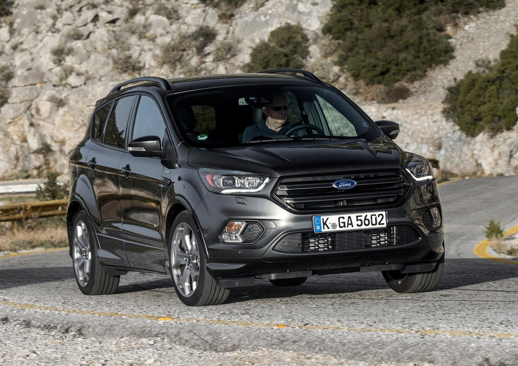 Ford Kuga Estate 2012 Photos Parkers