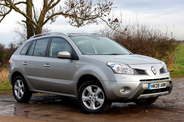 Used Renault Koleos Estate 2008 2010 Review Parkers