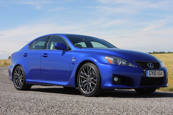 lexus is f from 2008 used prices parkers. Black Bedroom Furniture Sets. Home Design Ideas