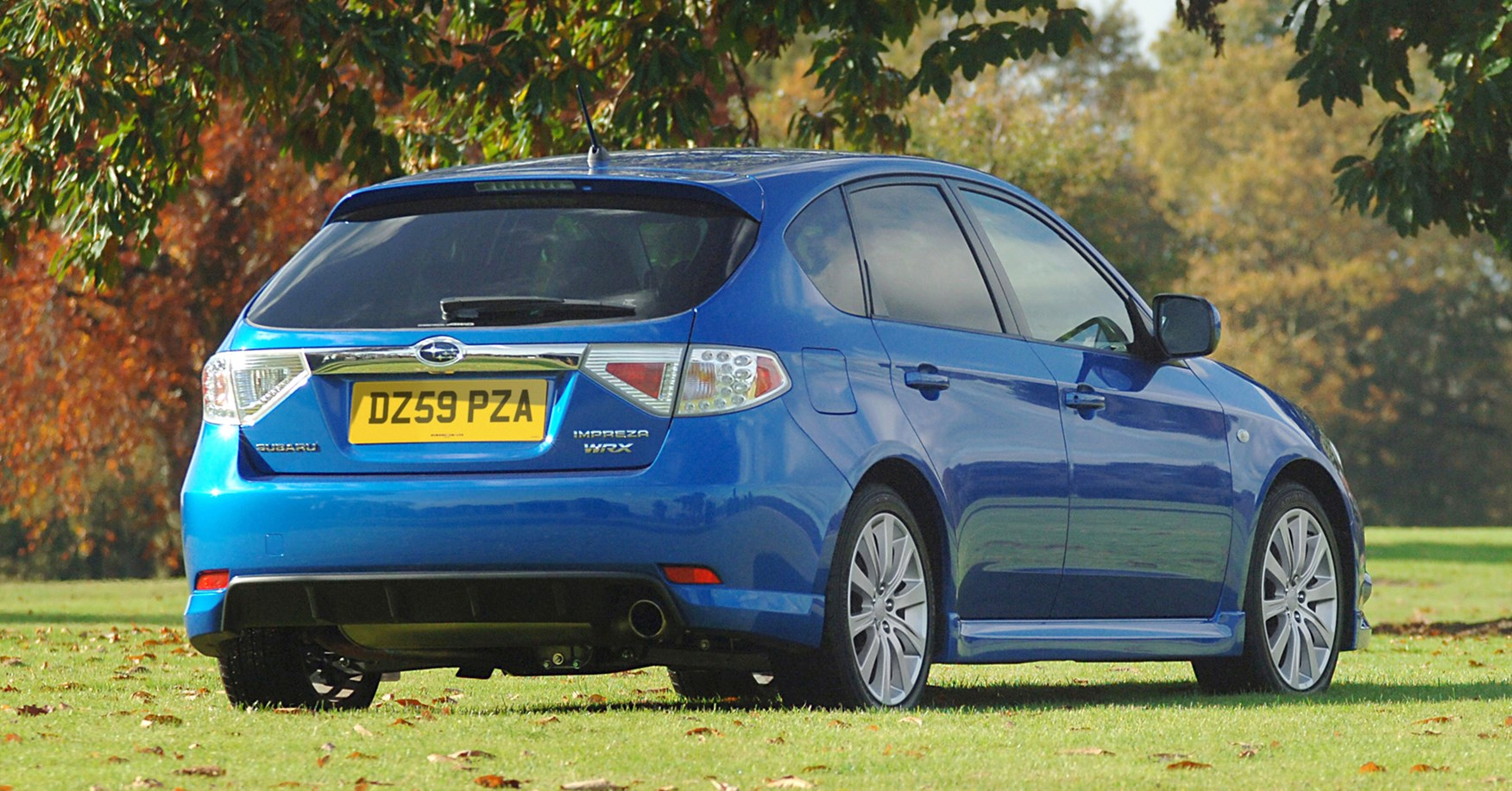 Subaru Impreza Hatchback Review 2007 2012 Parkers
