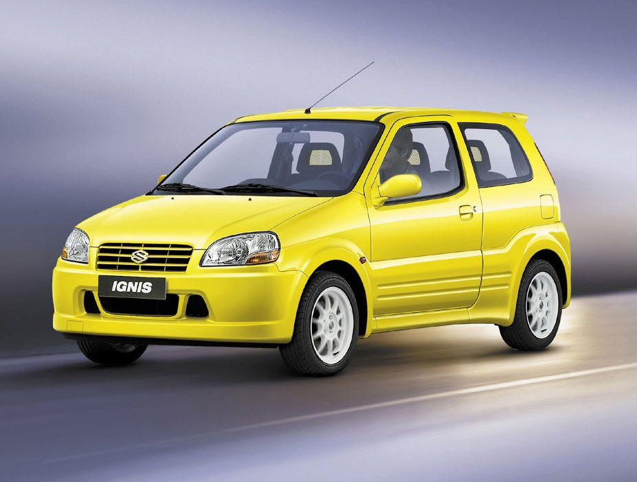 suzuki ignis hatchback 2000 2004 driving performance parkers. Black Bedroom Furniture Sets. Home Design Ideas