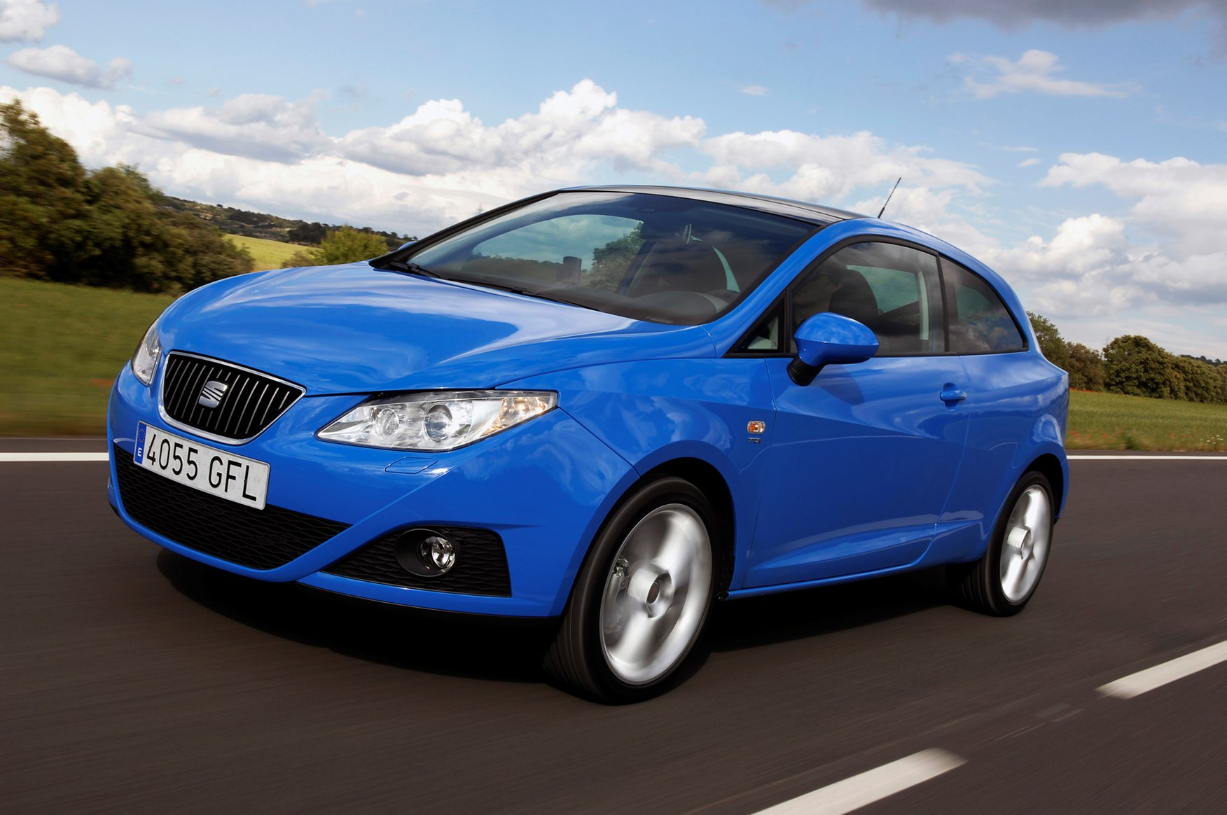 seat ibiza sport coupe 2008 driving performance parkers. Black Bedroom Furniture Sets. Home Design Ideas