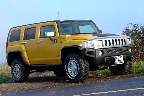 hummer h3 estate from 2007 used prices parkers. Black Bedroom Furniture Sets. Home Design Ideas