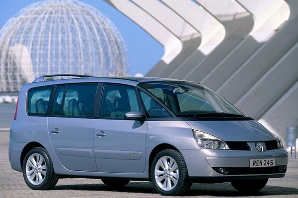 renault grand espace estate review 2003 2012 parkers. Black Bedroom Furniture Sets. Home Design Ideas