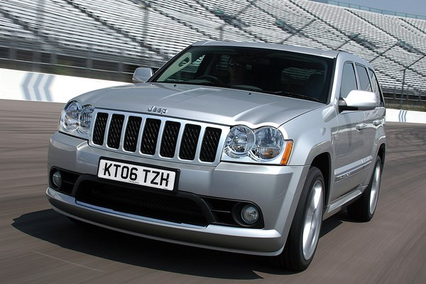 jeep grand cherokee srt 8 from 2006 used prices parkers. Black Bedroom Furniture Sets. Home Design Ideas