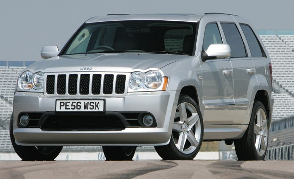 jeep grand cherokee srt 8 2006 2010 photos parkers. Black Bedroom Furniture Sets. Home Design Ideas