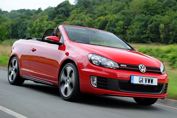 Volkswagen Golf GTI Cabriolet (2012 - 2016) Used Prices