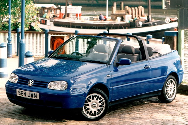 Volkswagen Golf Cabriolet 94 01 Rated 4 Out Of 5