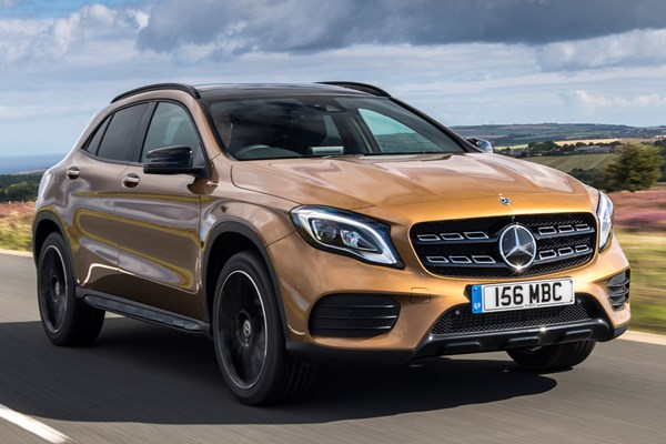 Mercedes benz gla class estate from 2014 used prices for Mercedes benz gla class price