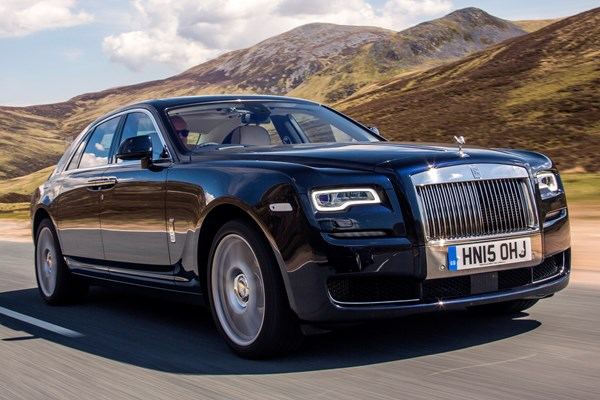 rolls royce ghost saloon from 2010 used prices parkers. Black Bedroom Furniture Sets. Home Design Ideas