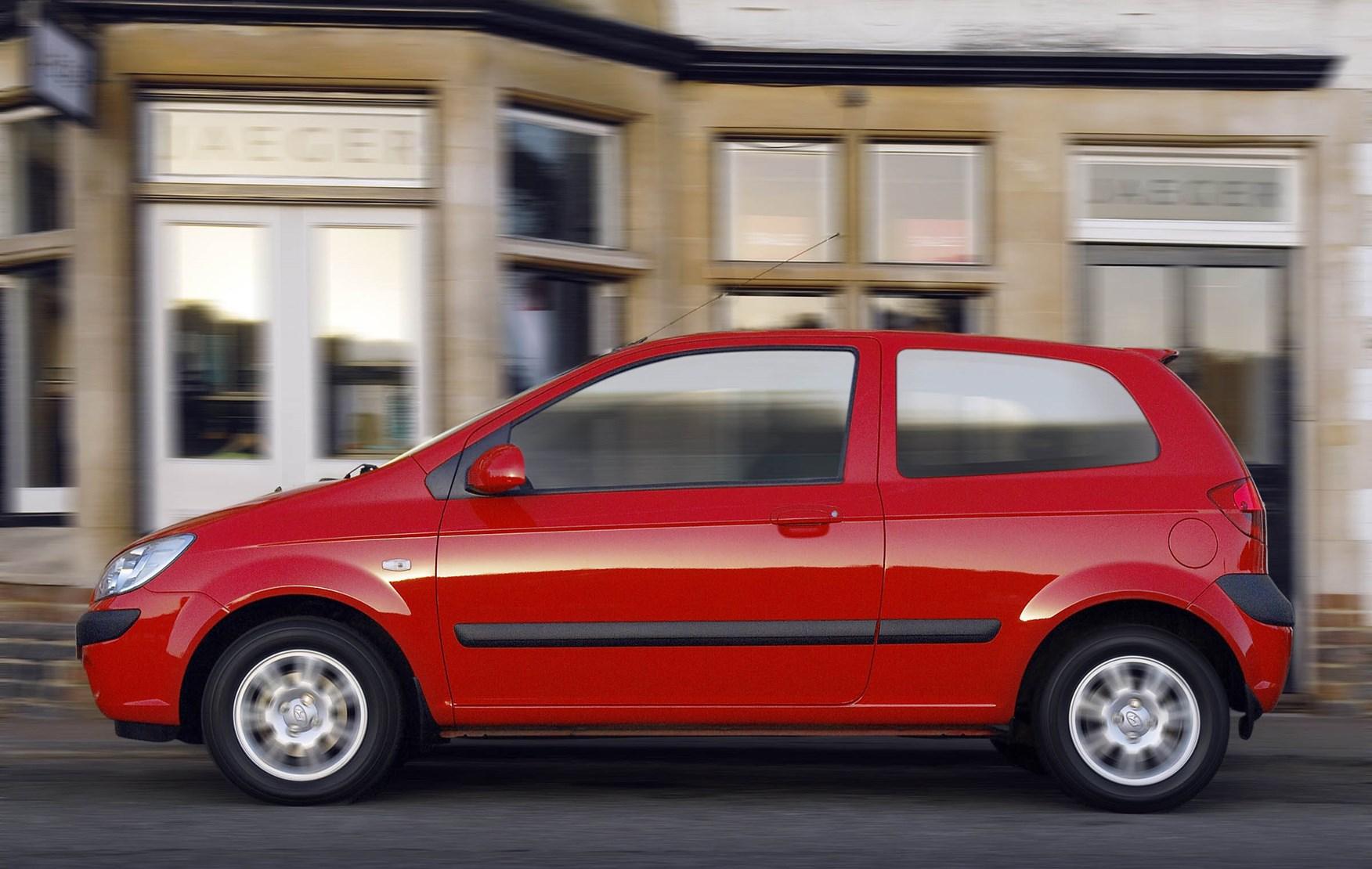 hyundai getz hatchback 2002 2009 driving performance parkers. Black Bedroom Furniture Sets. Home Design Ideas
