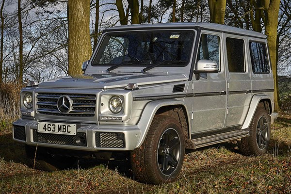 Mercedes benz g class estate from 2012 used prices parkers for 2012 mercedes benz g class for sale