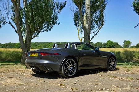 Jaguar F Type Roadster Rear