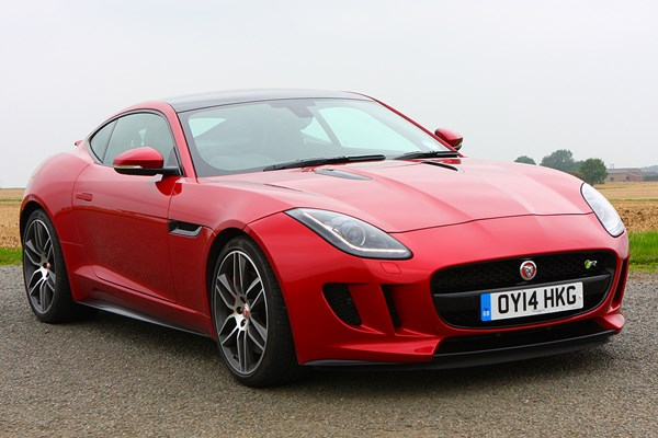 jaguar f type r coupe from 2014 used prices parkers. Black Bedroom Furniture Sets. Home Design Ideas