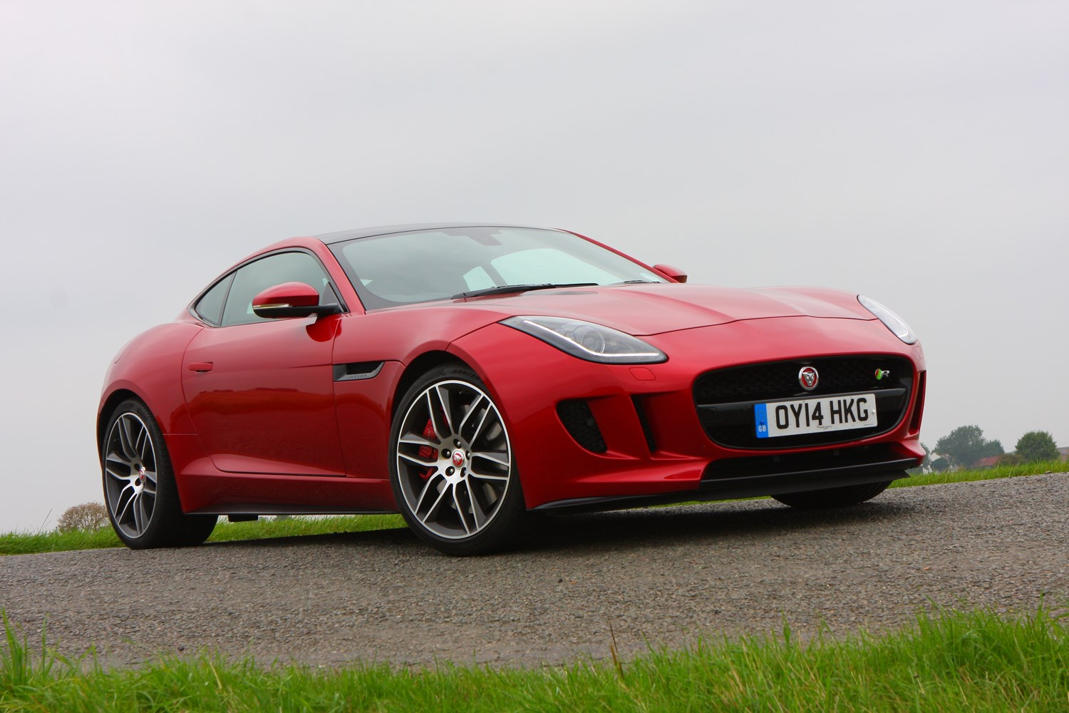 jaguar f type r coupe 2014 photos parkers. Black Bedroom Furniture Sets. Home Design Ideas
