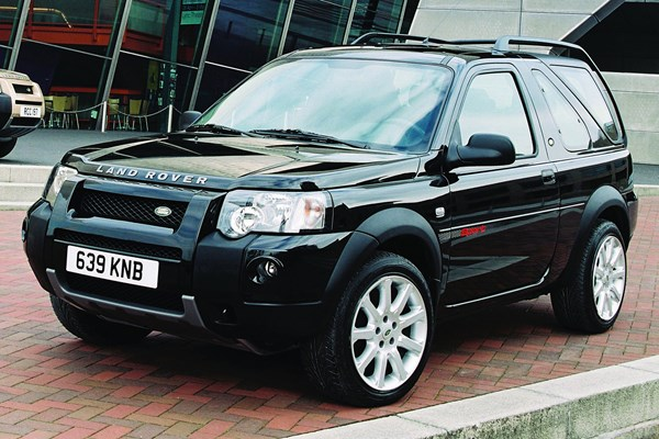 land rover freelander hardback from 2003 used prices. Black Bedroom Furniture Sets. Home Design Ideas