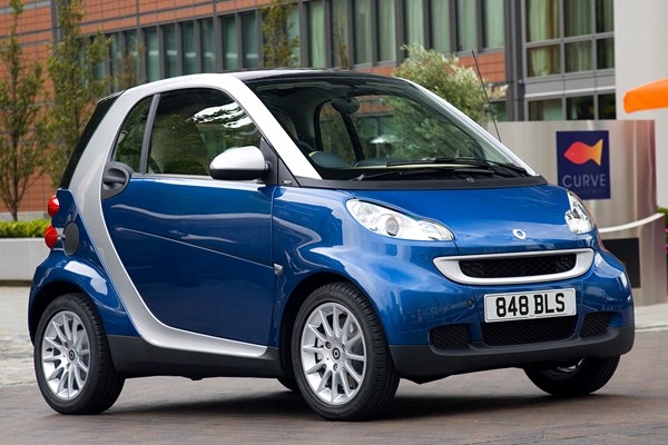 smart fortwo coupe from 2007 used prices parkers. Black Bedroom Furniture Sets. Home Design Ideas