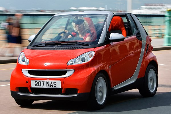 smart fortwo cabriolet from 2007 used prices parkers. Black Bedroom Furniture Sets. Home Design Ideas