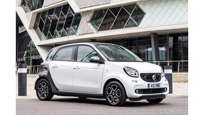 Smart Forfour Hatchback 0.9 Turbo Prime 5d