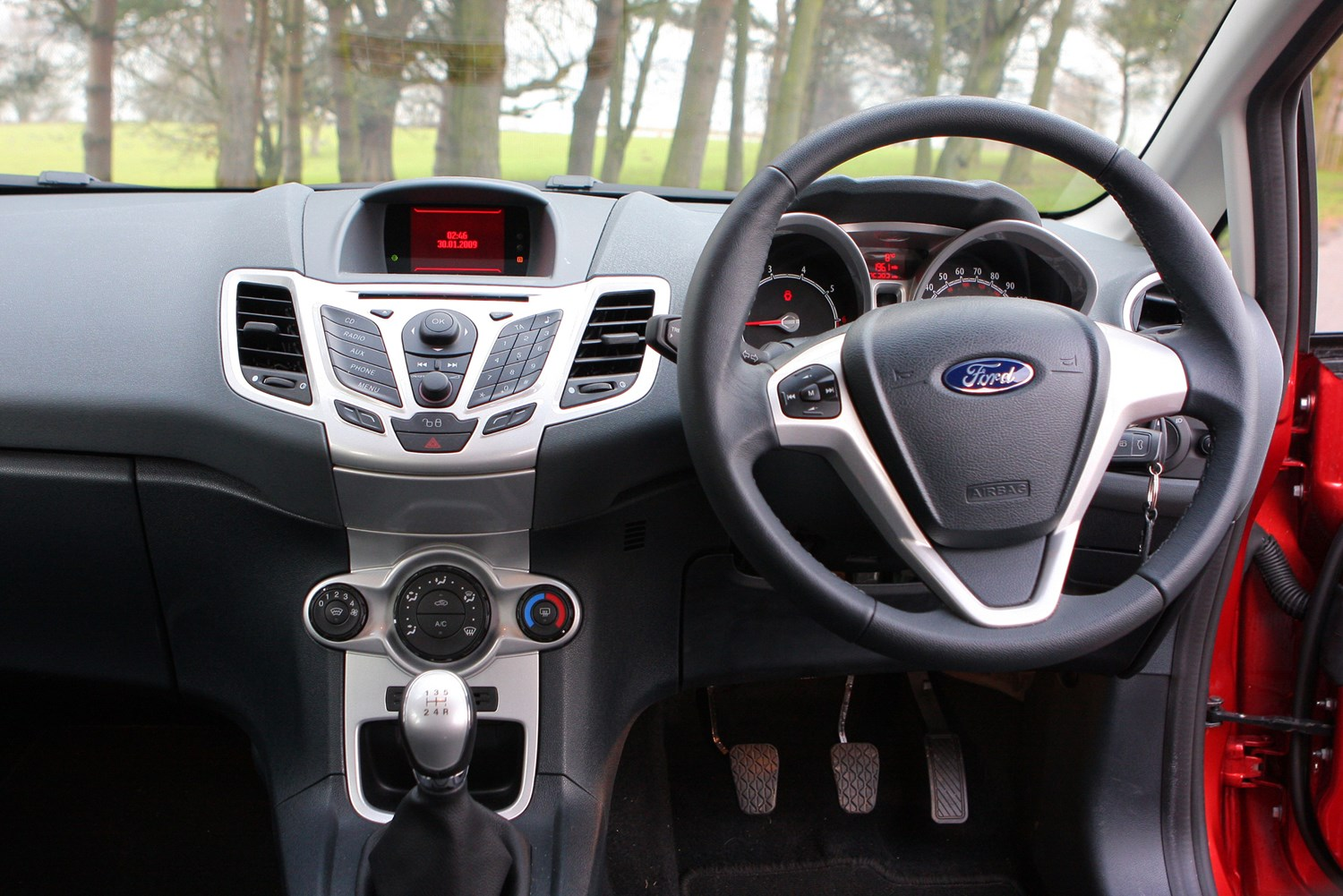 Ford Fiesta Hatchback 2008 Driving Performance Parkers