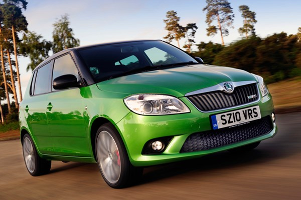 skoda fabia vrs from 2010 used prices parkers. Black Bedroom Furniture Sets. Home Design Ideas
