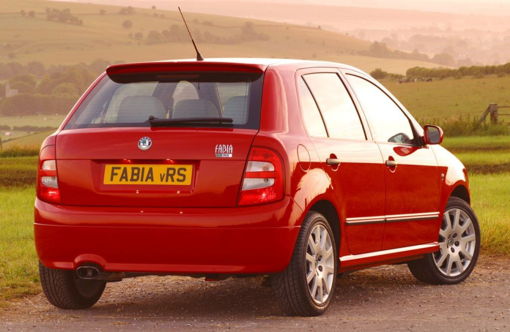 skoda fabia vrs 2003 2007 photos parkers. Black Bedroom Furniture Sets. Home Design Ideas