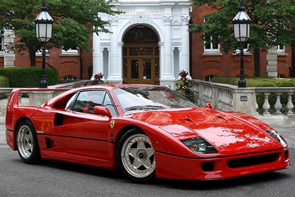 Ferrari F40 used prices, secondhand Ferrari F40 prices | Parkers