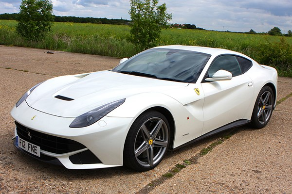 Ferrari F12berlinetta Coupe Review 2013 2017 Parkers