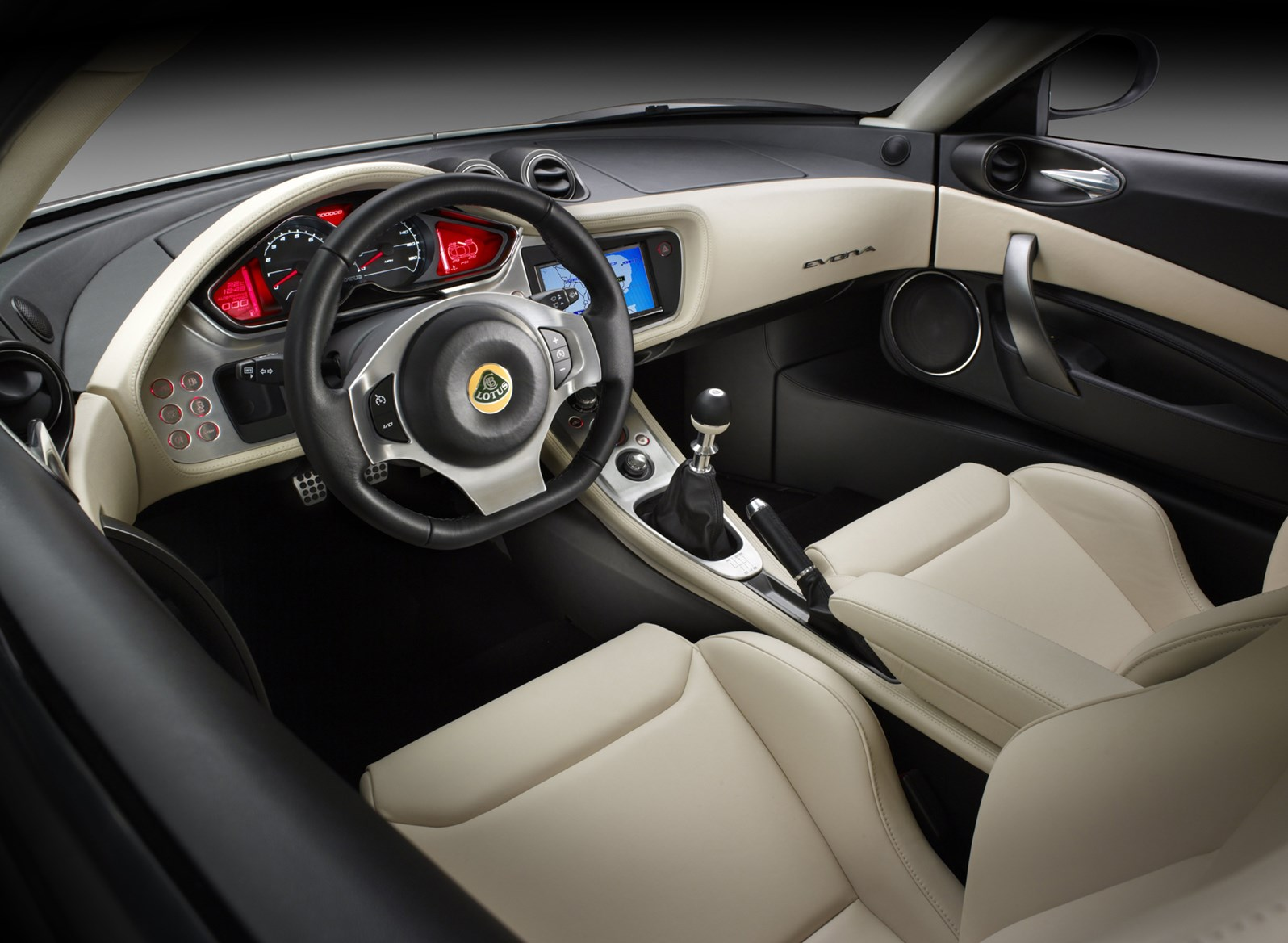Lotus evora coupe review 2009 parkers for Interieur 2015