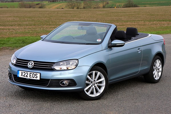 volkswagen eos coupe cabriolet review 2006 2014 parkers