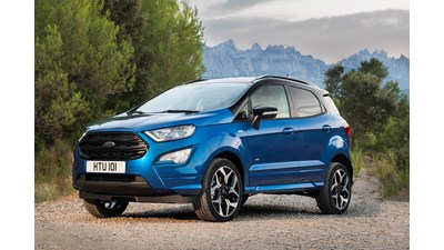 Ford EcoSport 4x4 Zetec 1.0 EcoBoost 100PS (10/2017 on) 5d