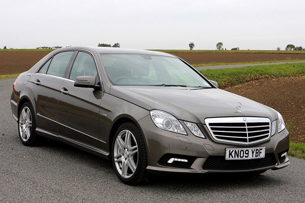 mercedes benz e class saloon from 2009 used prices parkers. Black Bedroom Furniture Sets. Home Design Ideas