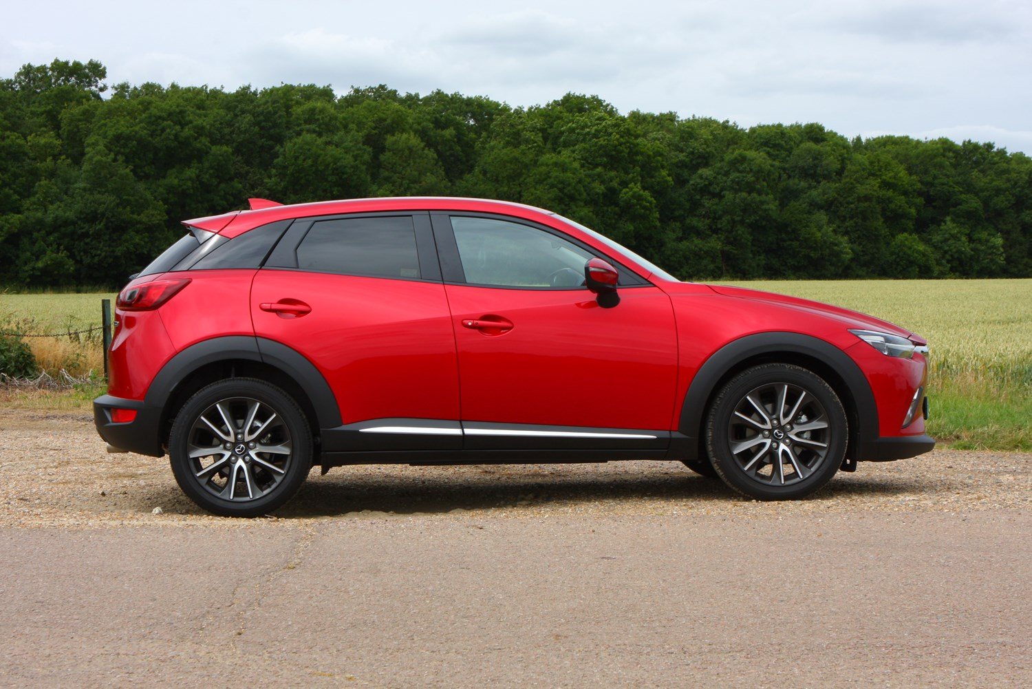Mazda Cx 3 4x4 Review 2015 Parkers